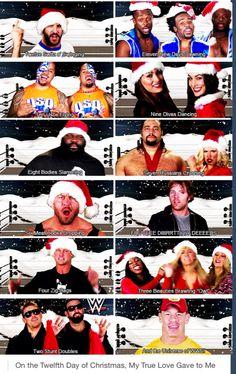 12 Days of WWE Christmas