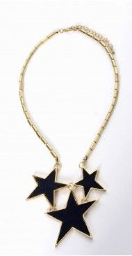 Rock Star Textured Necklace - RM37