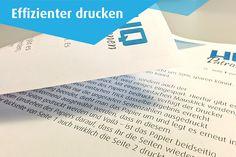 HQ-Patronen Magazin | Effizienter drucken 04: Papierverbrauch um 50 % senken