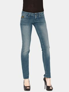 Diesel Louveboot Slim Bootcut Jeans Womens Jeans Jeans for Women COLOUR-midwash