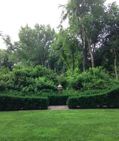 Bunny Williams' and John Rosselli's CT garden