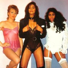 Vanity 6 was a female vocal trio assembled by Prince in the early 1980s. They released one studio album, which blended the sounds of pop, New Wave, dance music, R+B, and funk