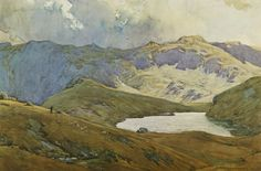 Codale Tarn (framed print) | Framed prints by Alfred Heaton Cooper | Prints of paintings by Alfred Heaton Cooper | Fine Art Prints | FINE ART GALLERY | Home | Heaton Cooper Studio