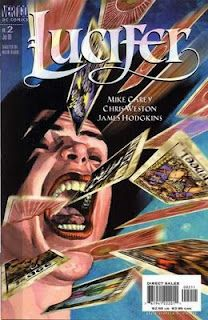 Vertigo's Lucifer comic series. Jill Presto is a comic book character that first appeared in Lucifer #1. Jill Presto was once an assistant to a stage illusionist. Then, one day, she was possessed by the Basanos, a living Tarot deck