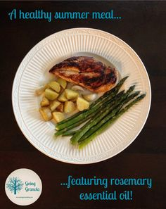Going Granola: Essentially Summer Recipe Series: Rosemary Roasted Potatoes (& more!)
