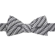 Navy Bow Tie With Go