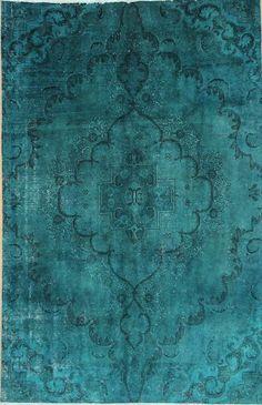 Orientteppich  Vintage Handgeknüpft  305 x 202 carpet Moderna alfombra oriental