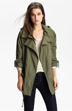 Willow & Clay Anorak | Nordstrom $118-Just treated myself to this for Fall 2013!