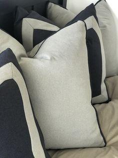 Custom Pillows, Decorative Pillows, Decor Interior Design, Interior Decorating, Drapery, Curtains, Luxury Cushions, Upholstery Cushions, House Interiors