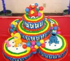 Image result for sesame street cakes
