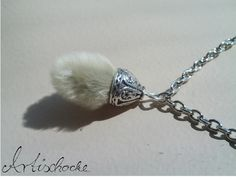 fur necklace