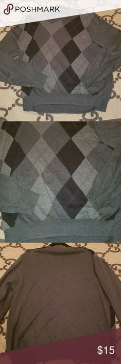 Tasso Elba V Neck Sweater Warm nice Tasso V neck sweater in great condition. Pair with a button up or wear alone looks great either way. Tasso Elba Sweaters V-Neck