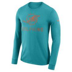 c45e7f7e2 Dri-FIT Seismic (NFL Dolphins) Men s Long-Sleeve T-Shirt