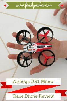 Airhogs DR1 Micro Race Drone Review by real kids!
