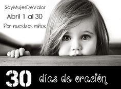 Un mes de oración por nuestros niños