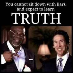 The Kingpin and the Joker: TD Jakes and Joel Olstein....organized crime underbosses. The overlord of such men is MONEY.