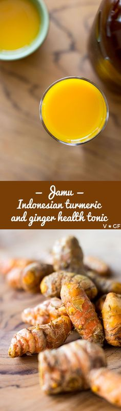 Turmeric and ginger jamu, an anti-inflammatory health tonic to add to your arsenal of home remedies. via @quitegoodfood