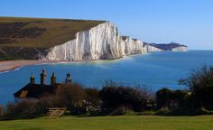 Finish your walk at Cuckmere Haven in the Seven Sisters National Park - dogs welcome all year round. East Sussex.
