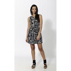 Vestido corto estampado de rayón - Mauna Barcelona - fashion - moda