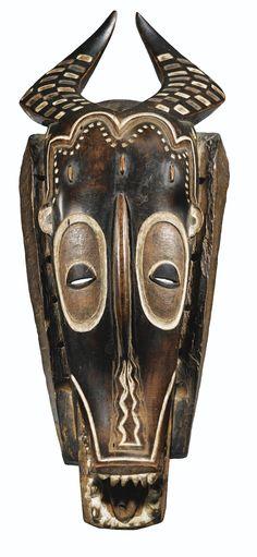 Masque, Guro, Côte d'Ivoire | lot | Sotheby's