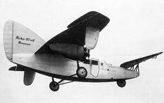 """Focke-Wulf F 19 Ente (German: """"Duck"""") (1927) was a German experimental """"canard"""" aircraft."""