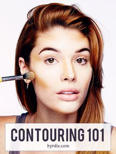 A how-to guide for contouring by celebrity makeup artist Lauren Andersen. // #beauty #makeup #contouring #beautytips