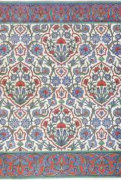 Wall tiling 16th century
