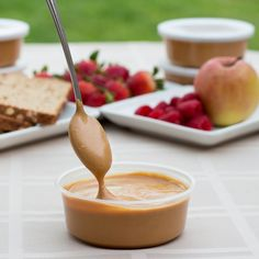 """The """"Original"""" spread that started it all, on the Big Island of Hawaii where Aloha Spreads was born. Many people are surprised to hear that our Coconut Peanut B Vegan Foods, Vegan Recipes, Coconut Peanut Butter, Spreads, Smoothies, Tub, Snacks, Cooking, Healthy"""
