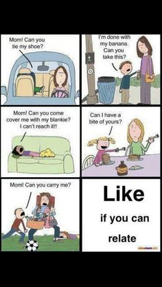 I'm not a mom but I can totally relate after bring a child myself and a babysitter!