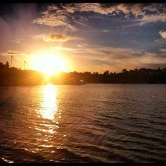@ingridggj | | Webstagram #sunset #herøya #kristiansand