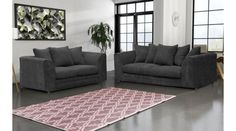 Jackson Jumbo Cord 3 + 2 Sofa Set