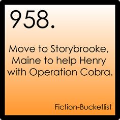 Yes. If only Operation Cobra were still in action, this would totally be on my bucket list. (Unless it really is and we just don't know it...those producers keep on giving this show twists and turns at every angle!)