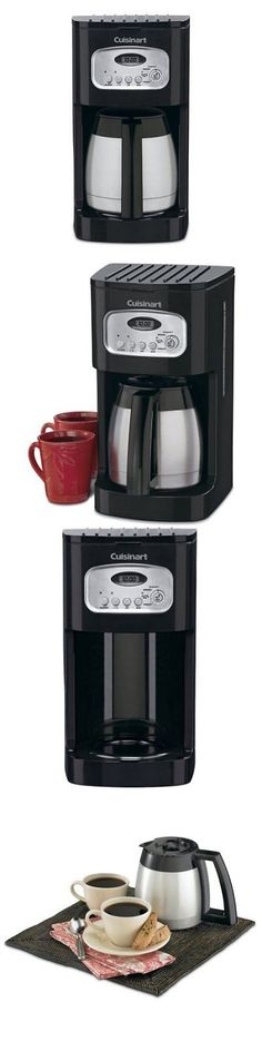 Small Kitchen Appliances: Cuisinart Dcc 1150Bkfr 10 Cup Thermal Coffee  Maker Black W