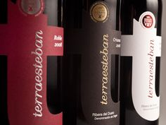 Packaging of the World: Creative Package Design Archive and Gallery: Terraesteban Wines