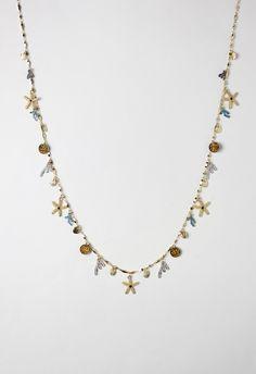 Delicate Starfish Diamond Necklace - Accessory - Retro, Indie and Unique Fashion