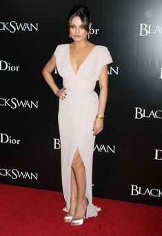 Mila Kunis Evening Dress - Mila Kunis Looks - StyleBistro