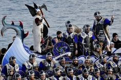 Jarl Squad, Up Helly Aa festival, Lerwick, Scotland photo: BBC Up Helly Aa, Fire Festival, Away We Go, Archipelago, Bbc News, New Pictures, Festivals, Vikings, Squad