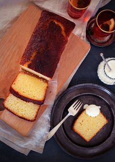 This classic lemon loaf is often made and always eaten. Quick and easy to make the recipe is easily doubled, providing one for now and one for the freezer. Loaf Recipes, Lemon Recipes, Dessert Recipes, Cooking Recipes, Free Recipes, Food To Go, Good Food, Lemon Syrup, Lemon Yogurt
