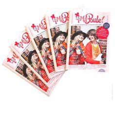 Couverture et mise en page de magazine - Ma Poule ! on Behance