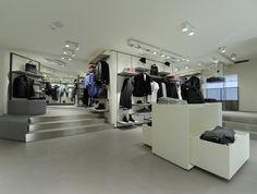 Sisley store by Arcabi Associates, Milan store design