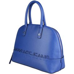 40be13fea7 Versace Jeans Blue Handbags ( 130) ❤ liked on Polyvore featuring bags