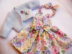 WHITE-FLORAL-Doll-Dress-For-10-Tonner-Ann-Estelle-Patsy-YoSd
