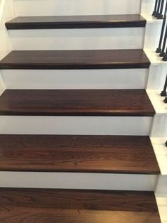 DIY+Wood+Plank+Stairs