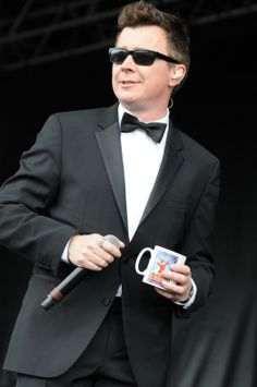 Rick Astley at the South Tyneside Summer Festival FREE Sunday Concert.