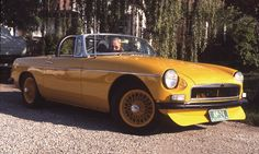 Car 31 - 1967 MGB - Bought this MGB 6-8-74 from my brother, David who bought it new in 1967.  I owned it in 1974 and 1975. Probably the best MGB I ever owned.