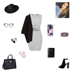 """""""going places"""" by synclairel ❤ liked on Polyvore featuring River Island, Bamboo, Kate Spade, Helmut Lang, Jeffree Star, Dorfman Pacific and Vera Bradley"""
