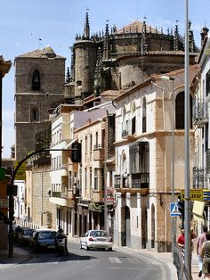 Plasencia, Extremadura in Spain