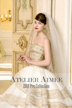 http://weddinginspirasi.com/2013/08/12/atelier-aimee-bridal-2014-pre-collection/  Atelier Aimée #Bridal 2014 Pre-Collection  #weddings #weddingdress #sposa #novia