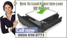 In case if that you can't load them with paper. Get some easy steps to load paper into a printer through HP Printer Technical Support Number experts.