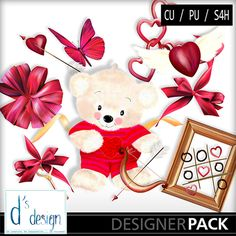 Vol 503 Mix Love, a digital scrapbooking kit from MyMemories Digital Scrapbooking.